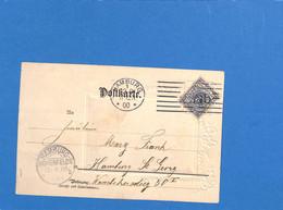 Allemagne Reich 1900 Carte Postale De Hamburg (G3372) - Covers & Documents