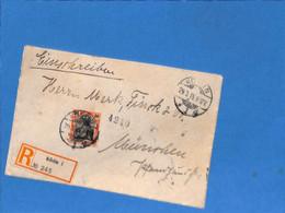 Allemagne Reich 1915 Lettre De Koslin (G3375) - Covers & Documents