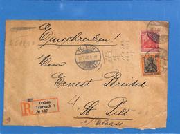 Allemagne Reich 1900 Lettre De Traben (G3376) - Covers & Documents