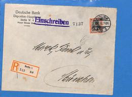 Allemagne Reich 1915 Lettre De Berlin (G3377) - Covers & Documents
