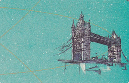 GERMANY(chip) - Here We Are/Tower Bridge-London(A 52 D), Tirage 49000, 12/91, Mint - Altri