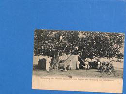 """Allemagne Reich 1905 Carte Postale """"Bahausung Der Mission Lauzemis Beim Beginn Der Grundung Der Jubelstation"""" (G3380) - Covers & Documents"""