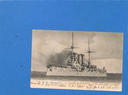 """Allemagne Reich 1904 Carte Postale """"S.M.S. Elsass"""" De Kiel (G3381) - Covers & Documents"""