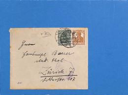 Allemagne Reich 1917 Lettre De Pforzheim (G3384) - Covers & Documents