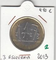 CREU0002 MONEDA ESLOVENIA 3 EUROS 2013 SIN CIRCULAR 5 - Slovenia