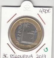 CREU0003 MONEDA ESLOVENIA 3 EUROS 2014 SIN CIRCULAR 5 - Slovenia