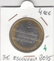 CREU0004 MONEDA ESLOVENIA 3 EUROS 2015 SIN CIRCULAR 5 - Slovenia