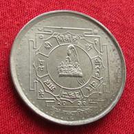 Nepal 50 Paisa 1974 KM# 822 Wºº - Nepal