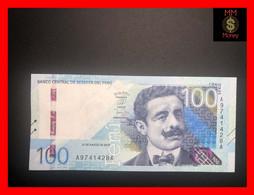 PERU 100 Soles  21.3.2019  Issued  2021  P. New     UNC - Peru