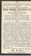 15 09/ 1//   ° GHEEL 1832 + 1915   MARIA UYTERHOEVEN - Godsdienst & Esoterisme