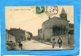 MARSEILLE*-quartier Les Olives+entrée Du Village *animée -a Voyagé En 1908- - Les Caillols, La Valentine