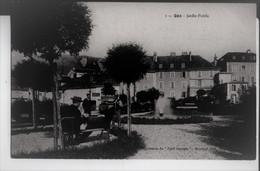 """1. Gex.Jardin Public. Imprimerie Du """"Petit Gessien"""" , Boccaid, éditeur. - Gex"""