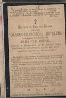 15 09/ 3//     °  BRASSCHAAT 1863 + ANTWERPEN 1902   JOANNES HUYSKENS - Godsdienst & Esoterisme
