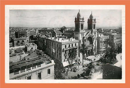 A245 / 533 Tunisie TUNIS - Cathédrale ( Timbre ) - Tunisie