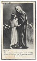 Jeanne Sacré, Merchtem 1914 - Merchtem 1936 - Décès