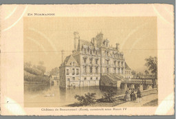 Château De Beaumesnil, Construit Sous Henri IV - Beaumesnil