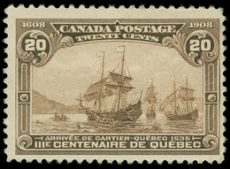 * Canada - Lot No. 356 - Unused Stamps