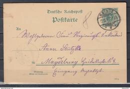 Postkaart Van Neisse Naar Magdeburg - Covers & Documents