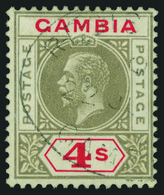 O Gambia - Lot No. 512 - Gambia (...-1964)