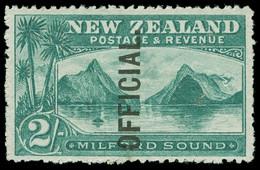 ** New Zealand - Lot No. 850 - Officials