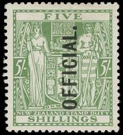 * New Zealand - Lot No. 854 - Officials