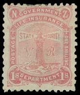 * New Zealand - Lot No. 855 - Officials