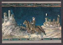 PM280/ Simone MARTINI, *Guidoriccio Da Fogliano All'assedio Di Montemassi*, Siena, Palazzo Pubblico - Peintures & Tableaux
