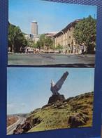 ARMENIA. Yerevan. 2 PCs Lot,  Soviet Architecture. 1978  Old USSR PC Stationery - - Armenia