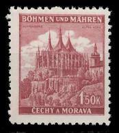 BÖHMEN MÄHREN 1941 Nr 69a Postfrisch X8285D6 - Nuovi