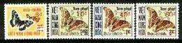 Vietnam - South 1974 Postage Due Overprints Set Of 4 Unmounted Mint SG D470k-470n - Vietnam