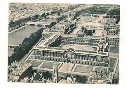 Ref 574 - CPSM 75 PARIS LE LOUVRE Collection Lapra Toulouse Vue Aérienne - Distrito: 01