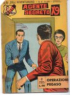"""Albi Dell'avventuroso""""Bat Star / Agente Segreto X9""""(Spada 1963) N. 4 - Non Classificati"""