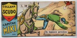 "Capitan Miki ""Striscia"" (Dardo 1964)  Serie  XXVII°  N. 11 - Non Classificati"
