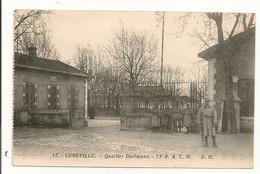 Ref 573 Tmb - CPA 54 Luneville Caserne Quartier Diettmann Soldat Artillerie - Luneville