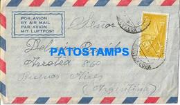 170262 SPAIN ESPAÑA PONTEVEDRA COVER CANCEL YEAR 1958 CIRCULATED TO ARGENTINA NO POSTAL POSTCARD - Zonder Classificatie