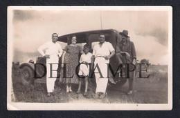 REAL PHOTO PORTUGAL AFRICA MOÇAMBIQUE MOZAMBIQUE AUTOMOVEL CAR NA NAMAACHA - 1933 (É UMA FOTO) - Mozambique