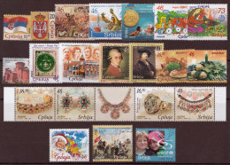 Serbia 2006 Europa, Rembrandt, Mozart, Christmas, Water Polo, Complete Year MNH - Serbia