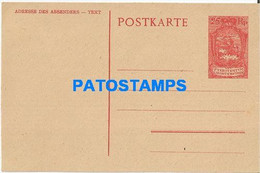 170279 LIECHTENSTEIN 25 RP POSTAL STATIONERY POSTCARD - Postwaardestukken