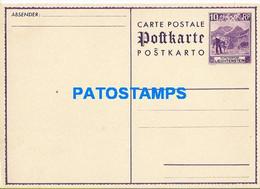 170286 LIECHTENSTEIN 10 RP POSTAL STATIONERY POSTCARD - Postwaardestukken