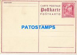 170287 LIECHTENSTEIN 20 RP POSTAL STATIONERY POSTCARD - Postwaardestukken