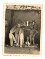 Ref 570 : Photo Originale Totem Fetiche African  Probablement Dahomey 9 X 12 Cm - Africa
