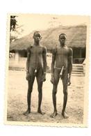 Ref 570 : Photo Originale Afrique Homme Nu Etui Pennien Penien Probablement Dahomey 9 X 12 Cm - Africa