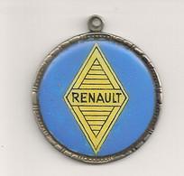 Ref KDK : Médaille RENAULT Venezuela Caracas Année 60 70 émaillée Automobile - Professionals / Firms