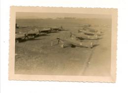 Ref AlbMar : Photo 6 X 9 Aviation Spitfire Aérodrome D'Aulnat Camp Sud Base Aérienne - Aviación