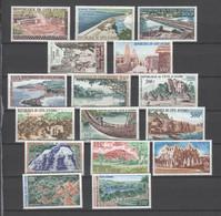 Elfenbeinküste , 16 ältere Postfrische Marken Von 100 - 500 Fr. - Ivoorkust (1960-...)