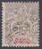 Senegal, Scott #43, Used, Navigation And Commerce, Issued 1892 - Oblitérés