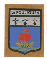Ref AlbMar : Ecusson Autocollant Sticker Année 60-70 Le Pouliguen - Pegatinas