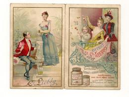 Ref AlbMar : Chromo Originale Calendrier Liebig 1893 - Liebig