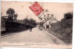 Ref 563 : CPA 27 BRETEUIL L'entrée De La Forêt - Breteuil