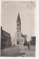 Ref 562 : CPA 76 Aunay Sur Odon L'eglise Timbre Taxe - Autres Communes